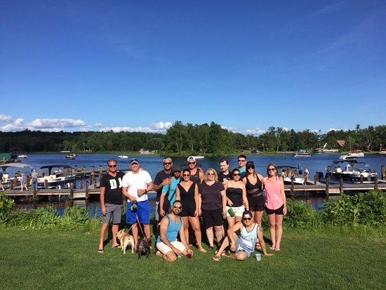 Nisswa, MN: Lakeside at Bar Harbor Supper Club