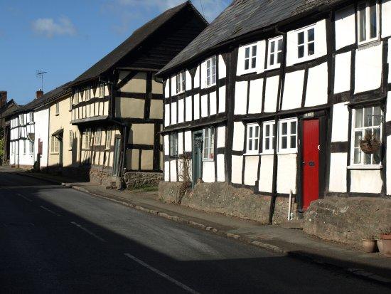 Dilwyn, UK : Pembridge a local Black and White village