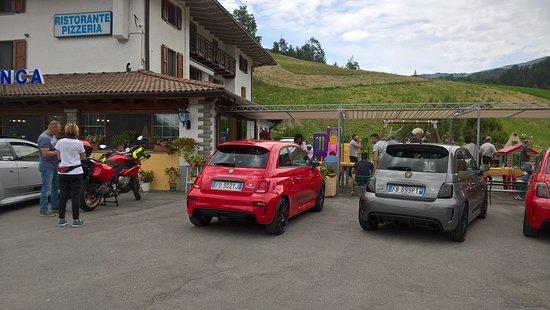Fiumalbo, Italy: raduno abarth firenze
