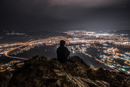 Overlooking the City of Kamloops