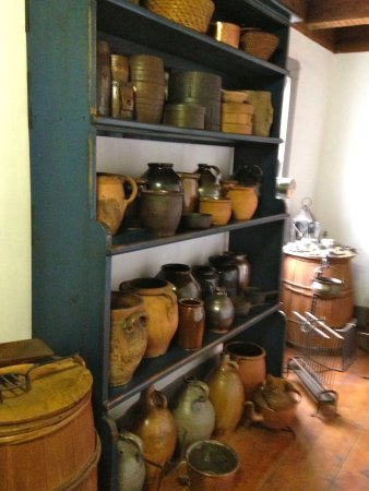 Morristown, NJ: The Ford Mansion: Pantry