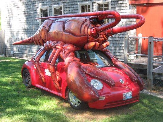Bath, ME: lobster car