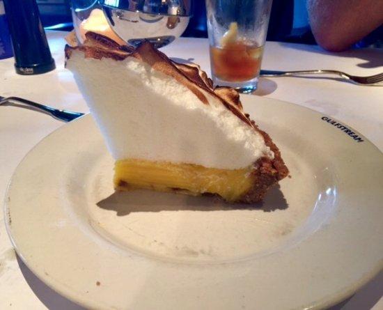 Gulfstream: Best lemon meringue pie ever!