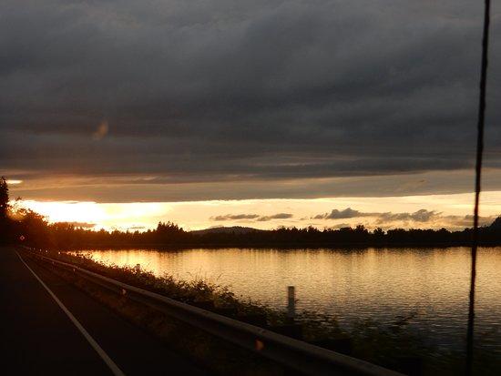 Oregon Dunes National Recreation Area: Sunset