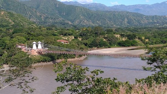 Puente de Occidente en Santa Fe de Antioquia