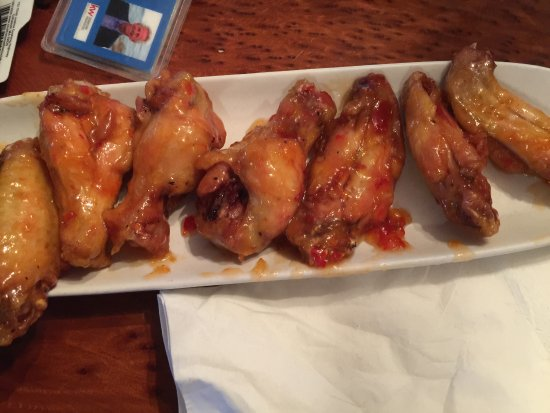 Hull, MA: Chicken wings prepared to your taste