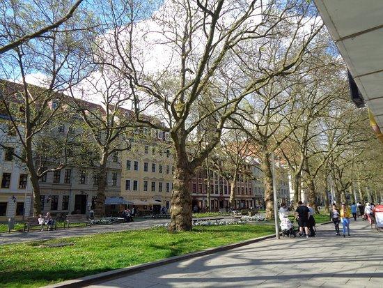 Neustadt: Hauptstrasse late Sunday Afternoon