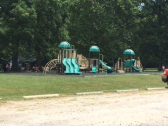 Lorton, Wirginia: Mason Neck State Park playground