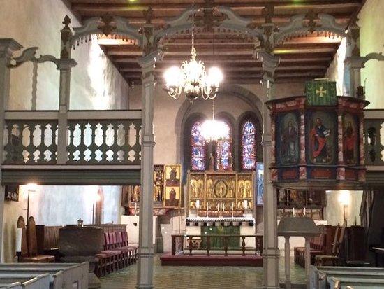 Harstad, Norvegia: Inside the beautiful Trondenes Kirke (Church)