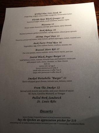 3rd & 3rd: menu