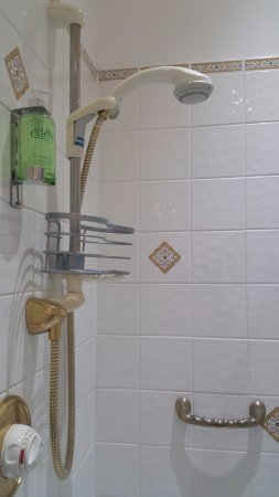 The Old Vicarage: Our shower