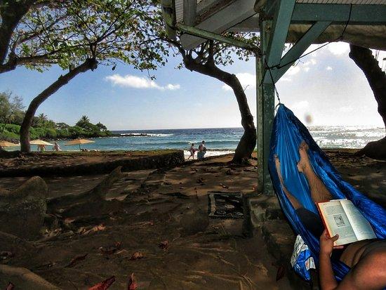 Hamoa Beach: View from the shade