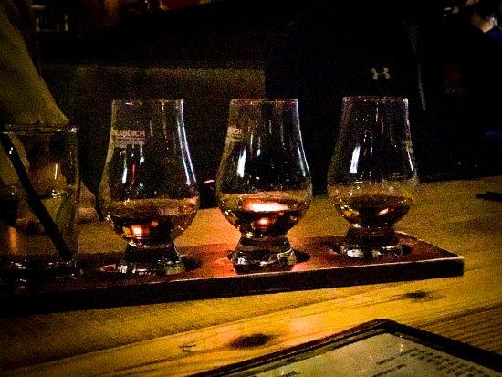 Spears: Bourbon flights.....