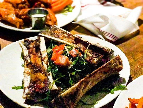Spears: Fried bone marrow....buttery goodness
