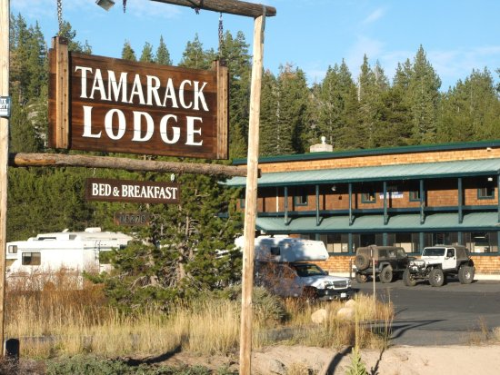 Tamarack Lodge at Bear Valley - RV's welcome with limited hook ups