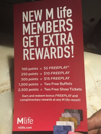 The Mirage Hotel Mlife Rewards Definitely Suggest It