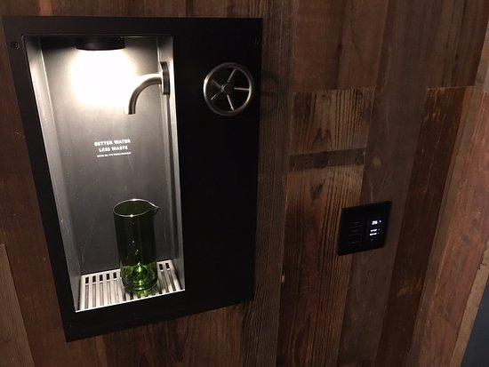 Water refill station in hotel - Picture of 1 Hotel Brooklyn