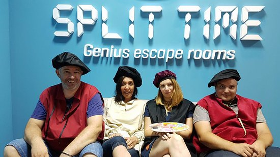 Split Time- Genius escape room