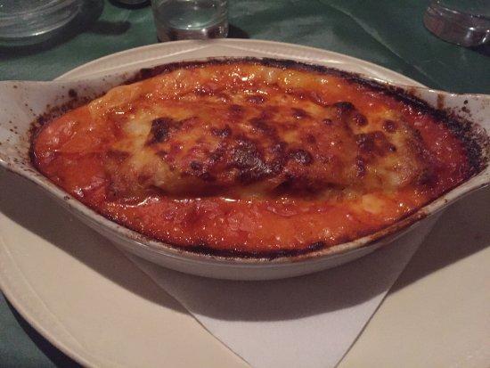Pizzeria Trattoria Mario: Lasagna!