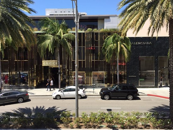 View Of Gucci From Room 201 Picture Of Luxe Rodeo Drive