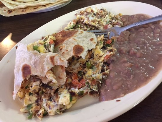 Port Isabel, TX: machacado a la mexicana