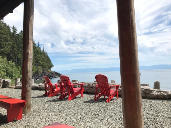Stunning scenery at Point-No-Point Resort in Sooke!