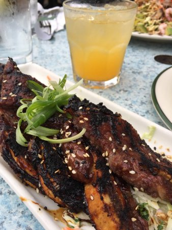 Roche Harbor, WA: The Kalbi rib appetizers are the best!