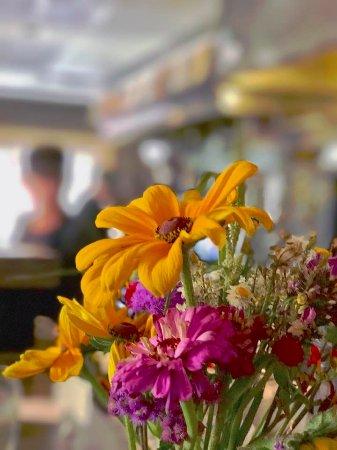 Plant Vegan Restaurant : Sitting at the counter.