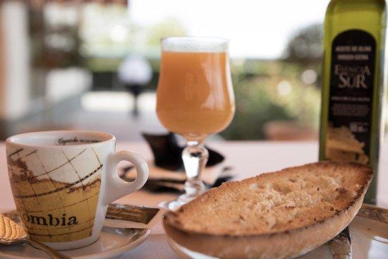 Torre del Campo, Spain: Desayuno