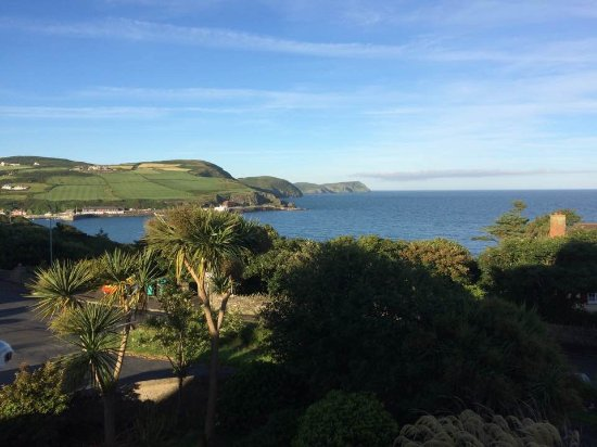 Port Erin, UK: View from our bedroom