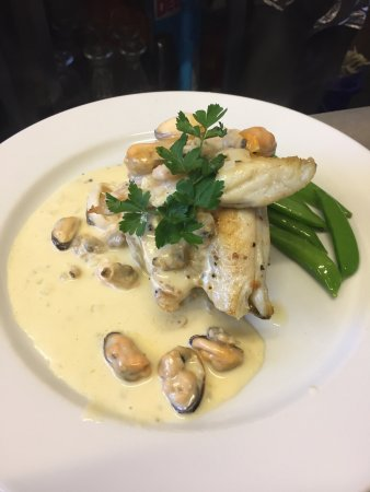 East Brent, UK: Chefs specials