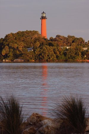 the Intracoastal Waterway and Jupiter Lighthouse