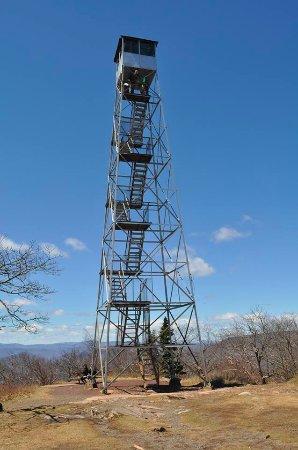 Woodstock, Estado de Nueva York: Overlook Mountain Fire Tower
