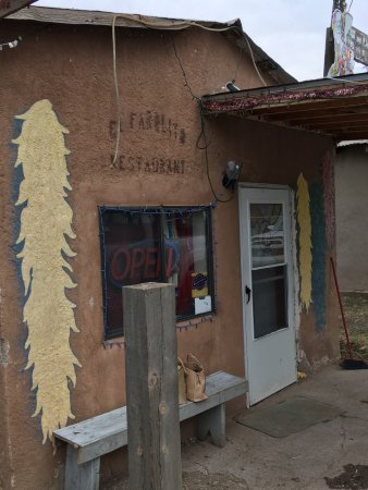 "El Rito, นิวเม็กซิโก: A wonderful ""hole in the wall"" restaurant in Northern New Mexico with friendly staff and great f"