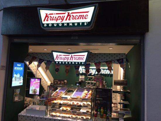 Krispy Kreme Manchester Piccadilly Menu Prices