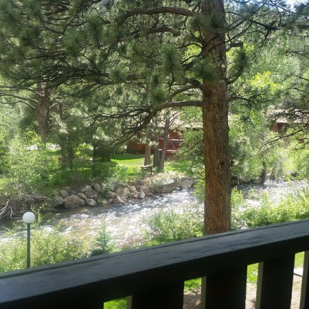 Deer Crest Resort: View from balcony