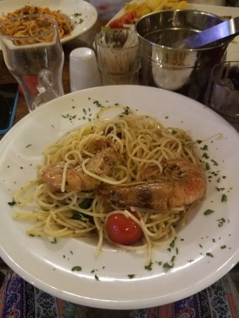 Anglo Maltese League: Shrimp & Pasta
