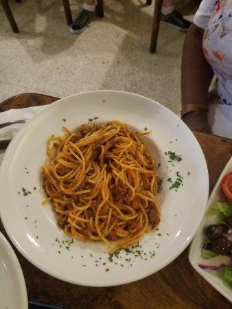 Anglo Maltese League: Spaghetti Bolognese