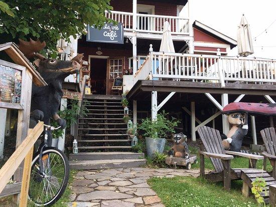 Val David, Kanada: Fun exterior