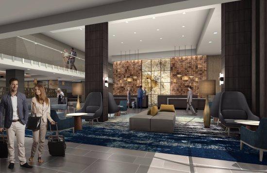 Delta by Marriott Seattle Everett Hotel Lobby