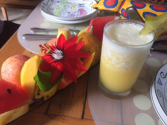 Pura Vida Hotel: Beautiful and delicious breakfast!