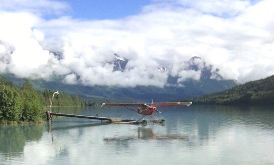Moose Pass, AK: property view of lake