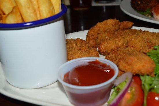 Bruxelles : chicken fingers
