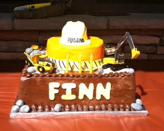 Hartsville, SC: This cake was for a four year old who loves construction!