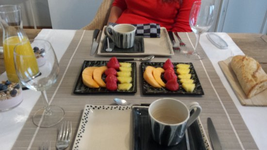 Bed & Breakfast Speelmansrei: DESAYUNO
