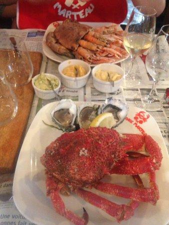 restaurant le crabe marteau dans paris avec cuisine fran aise. Black Bedroom Furniture Sets. Home Design Ideas