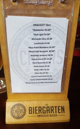 Merrimack, NH: Current beer list.
