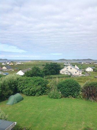 Bunbeg, Irland: the amazing view