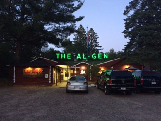 Al-Gen Supper Club - Rhinelander Wisconsin