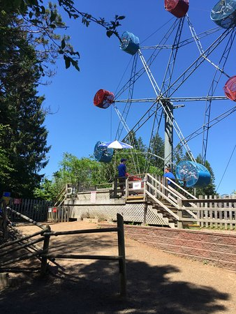 Upper Clements Parks: favorite ride of 7 year old grandson